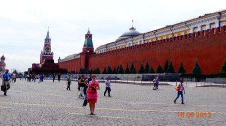 Путешествие в Москву в июне 2013.